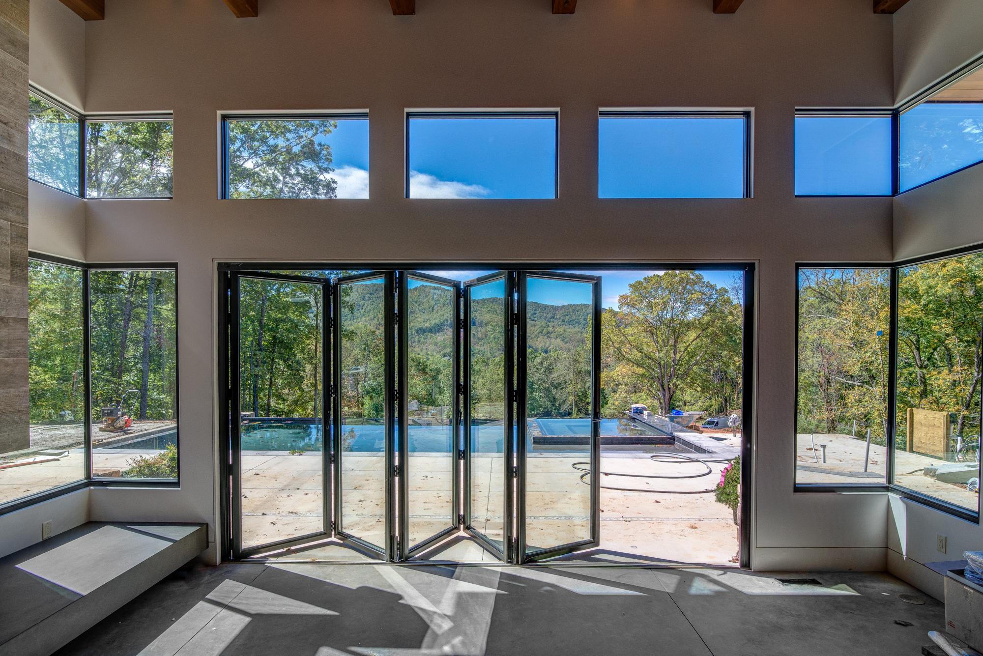 Living Stone Window Wall