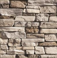 Whitebark ledger stone wall