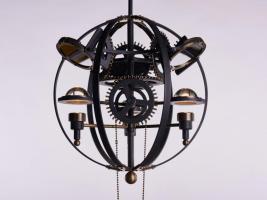 Leonardo 1482 light fixture by Karice Enterprises