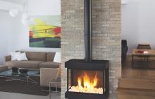 Ortal Lyric stand alone fireplace