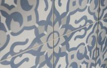 Duquesa Cement Fatima tile pattern