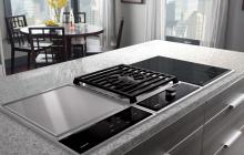 Wolf induction heat cooktop
