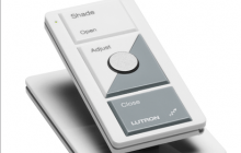 Lutron's Sivoia QS Wireless system offers convenient daylight control for new or