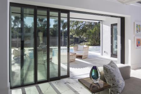 Ply Gem remote control patio door
