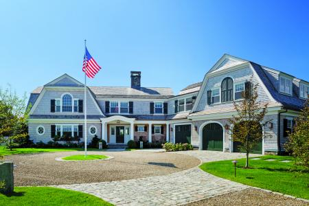 Shingle-style home in Martha's Vineyard