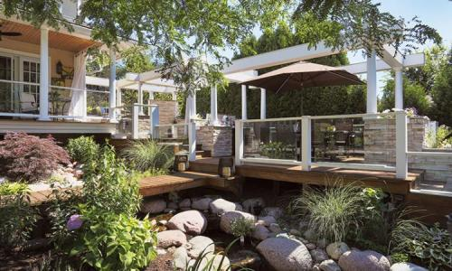 Remodeler Larry Rych's backyard oasis